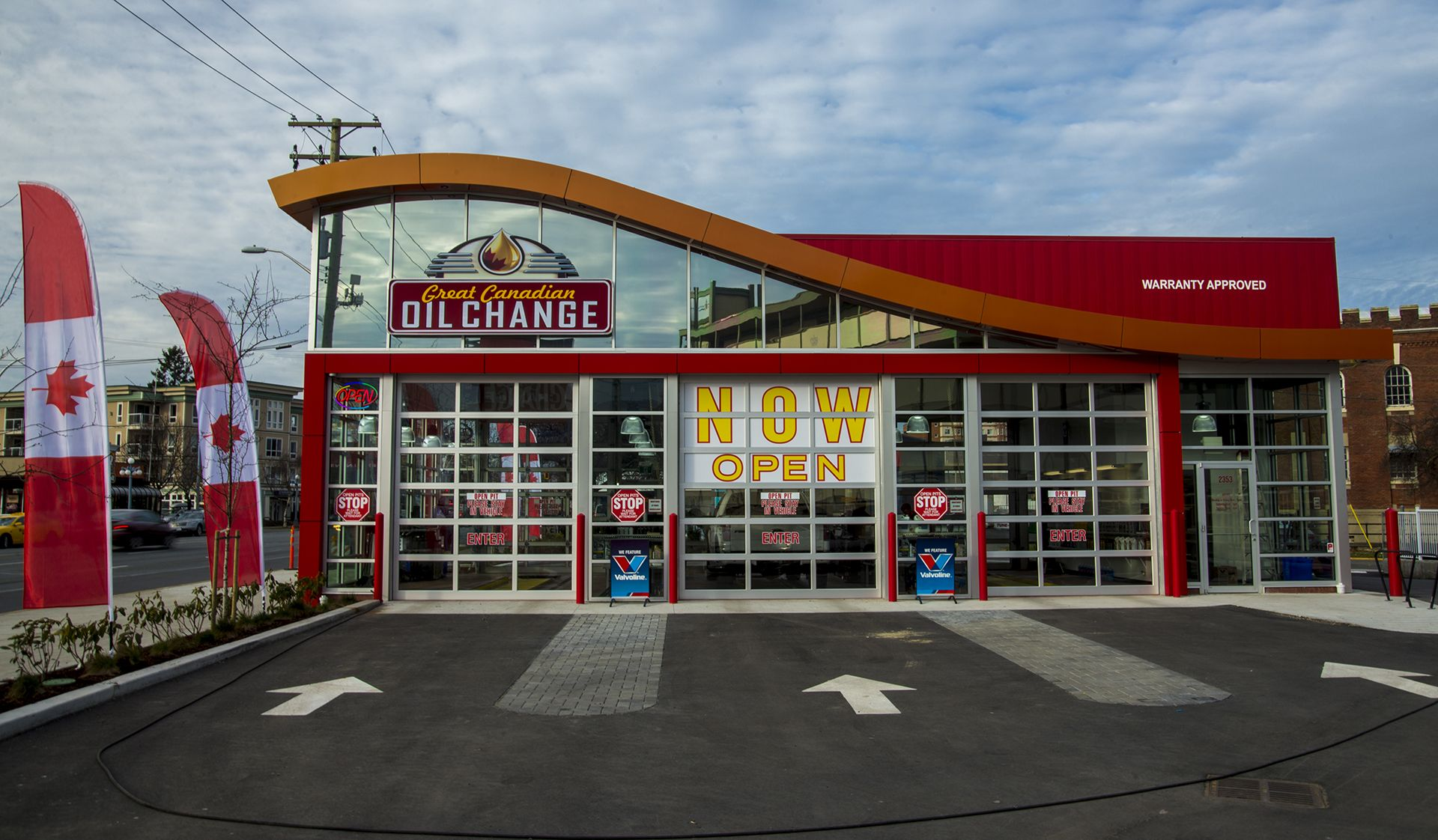 Great Canadian Oil Change Vancouver Island store front